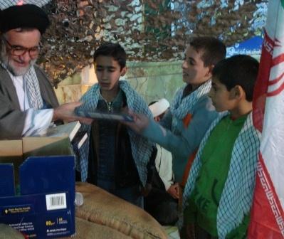 اهدای جوایز-محمد یزدانی